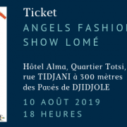 Angels fashion show lome 10 aout 2019 18 heures 2